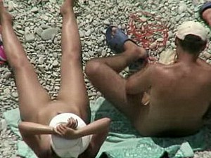 Hot spying on nudist beach 2